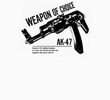 'Weapon of Choice - AK47' Unisex T-Shirt