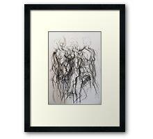 Moving figure, 2011 Framed Print
