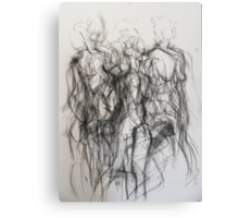 Moving figure, 2011 Canvas Print