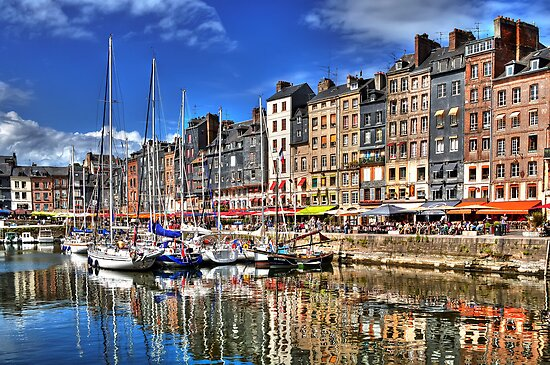 Honfleur - Harbor by paolo1955
