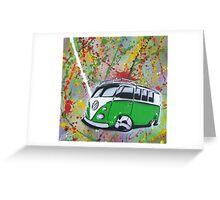 Splitty Splatter 01 Painting Greeting Card