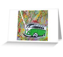 Splitty Splatter 01 Painting Greeting Card
