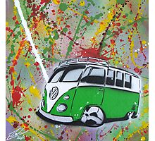 Splitty Splatter 01 Painting Photographic Print