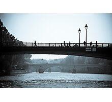 Paris in Motion Photographic Print