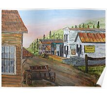 Gold Rush Ghost Town Poster