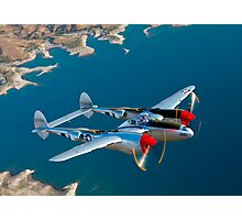 P-38 Lightning Photographic Print