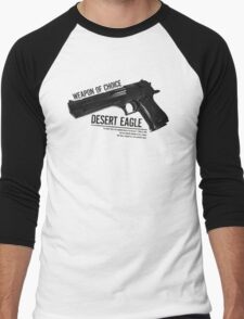 'Weapon of Choice - Desert Eagle' Men's Baseball ¾ T-Shirt