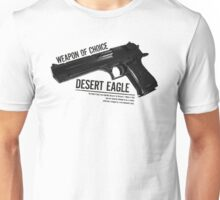 'Weapon of Choice - Desert Eagle' Unisex T-Shirt