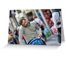 Express yourself 2 Greeting Card