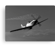 P-51D Mustang Canvas Print