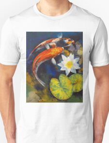 Koi Fish and Water Lily T-Shirt