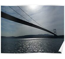 The Bosphorus Bridge Poster