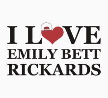 I Love Emily Bett Rickards - Snapback One Piece - Long Sleeve