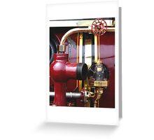 steam sculpture Greeting Card
