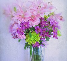 Spring Bouquet by Bonnie T.  Barry