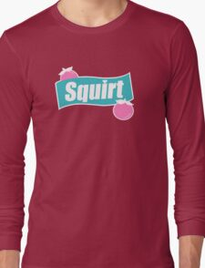 Squirt! Soda Can Sign! Long Sleeve T-Shirt