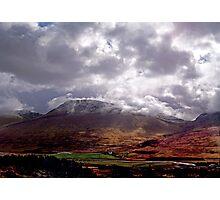 glen coe scotland Photographic Print