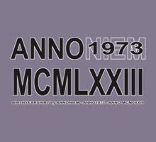 ANNO MCMLXXIII bw by AnnoNiem Anno1973