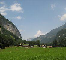 Valley Life - Lauterbrunnen, CH by Danielle Ducrest