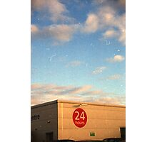 24 Hour Shopping Photographic Print