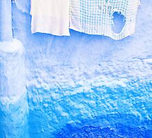 Chefchaouen Washing by Beth Jennings