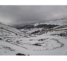April in the Balkan Mountains Photographic Print