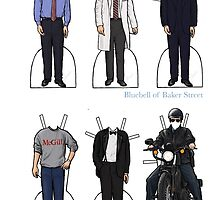 James Wilson Paper Dolls by bluebell42