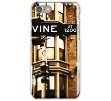 Vine Street - Downtown Cincinnati iPhone Case/Skin