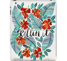 Killin' It – Tropical Red & Green iPad Case/Skin