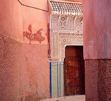 Marrakesh Doorway by Beth Jennings