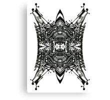 Angry Viking. Canvas Print