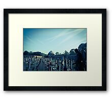 Twice Two Makes Four Framed Print