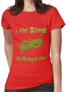 Gamer Slogan Womens Fitted T-Shirt