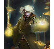 Sorcerer of Fire Photographic Print
