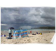 Cornish Rain's Coming! Poster