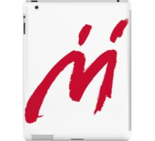 M Graffiti  iPad Case/Skin