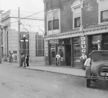 Main Street ~McMinnville Tennessee 1926 by © Brady-Hughes- Beasley Archives