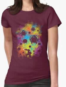 Galactic Warrior Womens Fitted T-Shirt