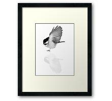 Reflective charm Framed Print