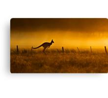 Sun Rise Aussie style Canvas Print