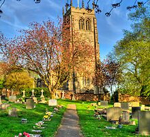 Gresley Church St mary & St George by Elaine123