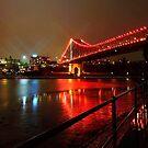 Storey Bridge at Night by Kym Howard