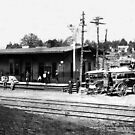 Railroad Depot-McMinnville Tennessee by © Brady-Hughes- Beasley Archives