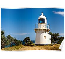 1878 Fingal head lighthouse Poster