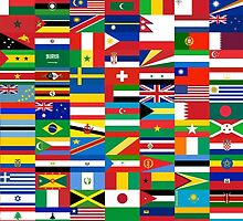 Flags of the World by Shevaun  Shh!
