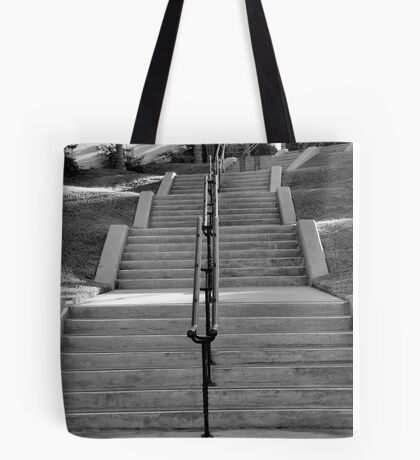 Historic Stairs Tote Bag