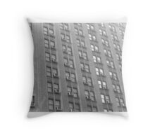 City Windows Throw Pillow