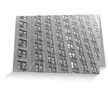 City Windows Greeting Card