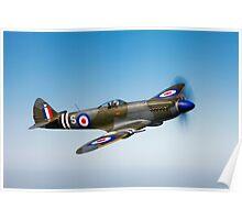 Supermarine Spitfire Mk-18 Poster