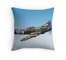 Supermarine Spitfire Mk-18 Throw Pillow